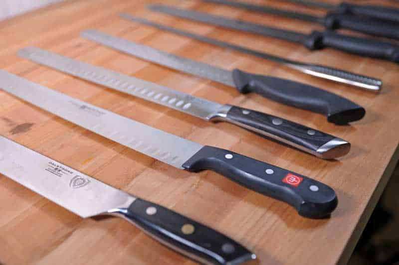 Slicing vs. Carving Meat Knives