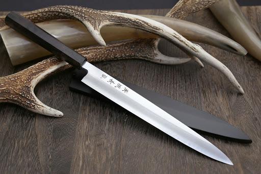 Yoshihiro Stainless Steel Sushi Sashimi Japanese Knife