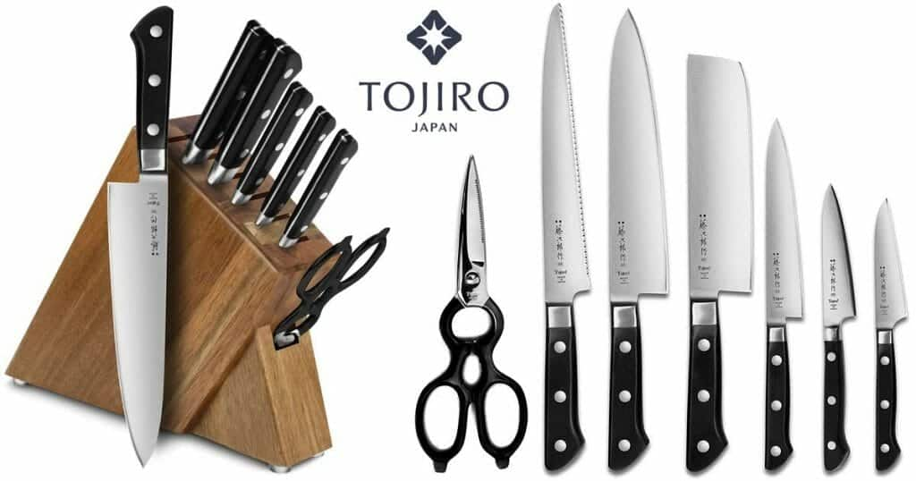 Tojiro DP 8-Pc Knife sets